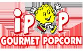IPOP Gourmet Popcorn – Memphis, TN Logo